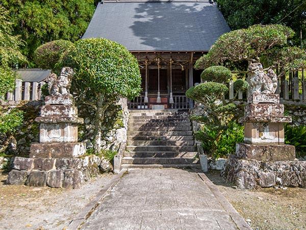 阿上三所神社(坂原)