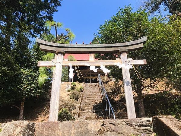 尾長野の八坂神社